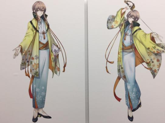 A4パネル(キャラクター)泉鏡花